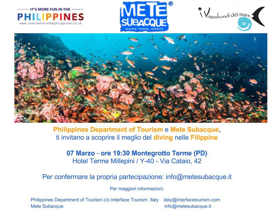 Y40 – Serata Philippines – Marzo 2018